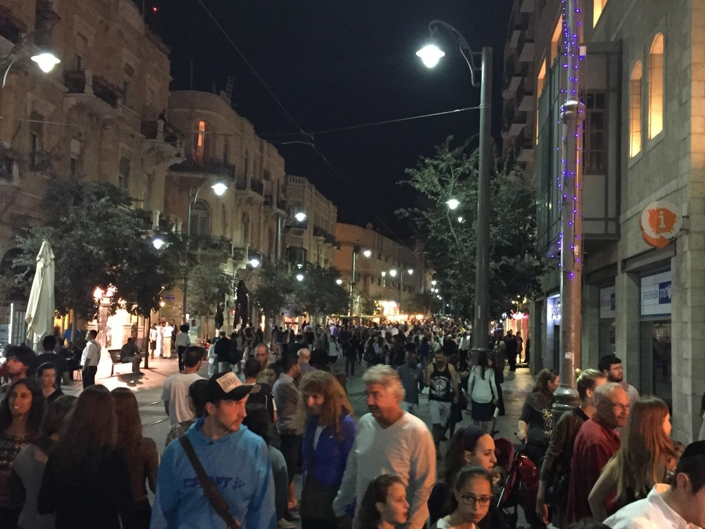 It was exciting to beinJerusalemduring one of the 'high holy weeks', and the city was jam-packed full of people. We spent hours simply trying to find parking, and walking great distances to get to where we wanted to go.